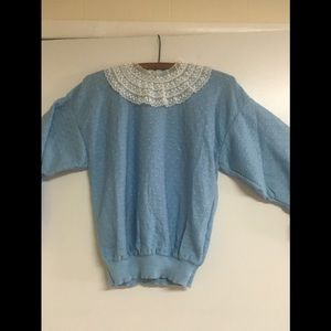 Baby blue vintage sweater